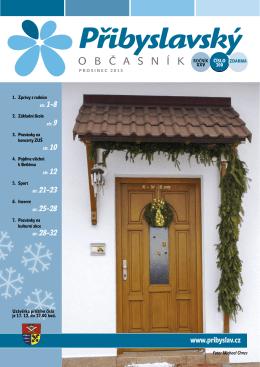 Přibyslavský občasník prosinec 2015