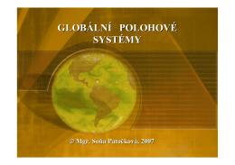 Globální polohový systém