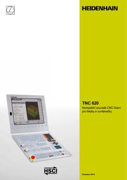 TNC 620 - Kompaktní souvislé CNC řízení pro frézky a vyvrtávačky