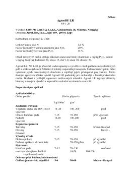 Agrosil® LR - compo