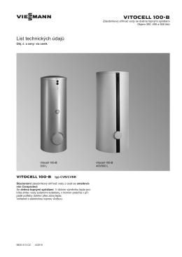 Technický list | Technická data (PDF 925 KB)