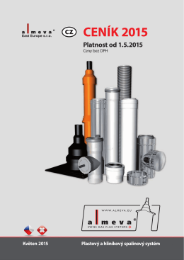 Ceník 2015 - PLASTDownload PDF