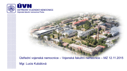 Ústřední Vojenská Nemocnice Praha