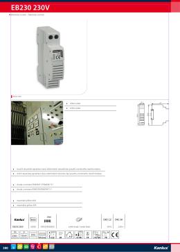 EB230 230V - Elektro