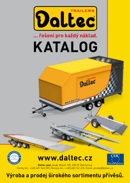 Katalog - Daltec