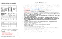 Pokyny pro prodej povolenek v roce 2016