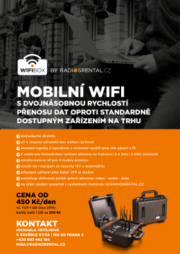 WifiBox - Radiosrental.cz