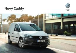 Nový Caddy skříňový vůz - Vítá Vás Volkswagen Užitkové vozy