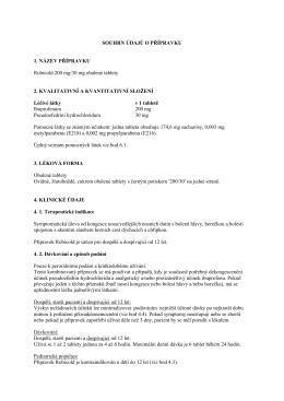 Robicold 200 mg/30 mg obalené tablety