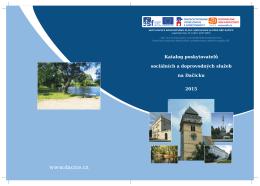 Katalog poskytovatelů sociálních a doprovodných služeb na Dačicku