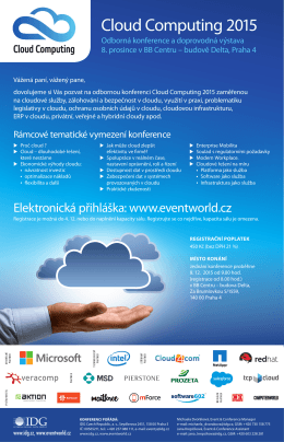 Cloud Computing 2015