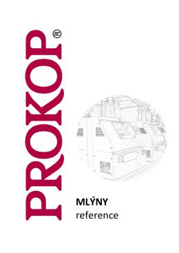 Reference Mlýny CZ - PROKOP INVEST, as