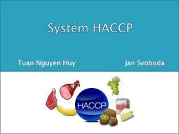 Systém HACCP v potravinářské mikrobiologii