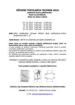 1509 leták opr-oživení textilních technik 2015