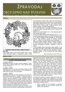 Zpravodaj č. 08/2015