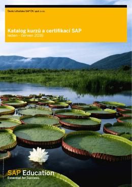 Katalog kurzů a certifikací pro leden - červen 2016