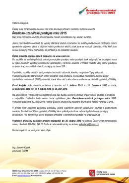 Řeznicko-uzenářská prodejna roku 2015.