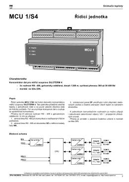MCU 1/S4
