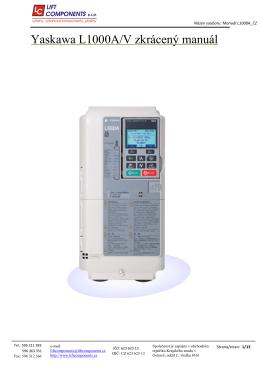 L1000A - Lift Components sro