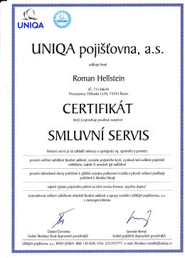 uniqa - Autoskla Roman Hellstein