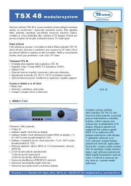 TSX 48 modularsystem
