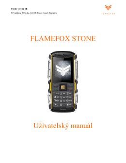 Uživatelský manuál pro FlameFox Stone