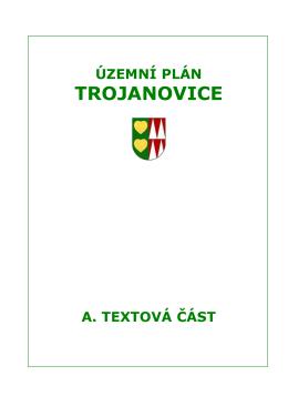 Územní plán Trojanovice