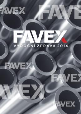 Výroční zpráva FAVEX, s.r.o. 2014