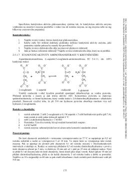2.5.1.7 stanovení aktivity aminotransferasy v krevním séru
