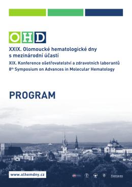 Odborný program OHD 2015
