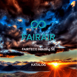 FAIRAIR Katalog