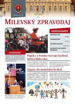 Milevský zpravodaj 3-2015