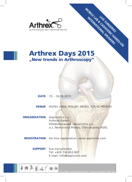 Arthrex Days 2015