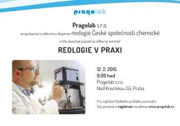 reologie v Praxi
