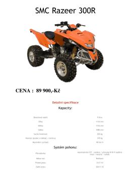 SMC Razeer 300R