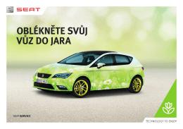 Jarní servis SEAT - Porsche Hradec Králové