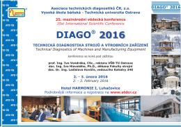 Diago 2016 - Asociace technických diagnostiků