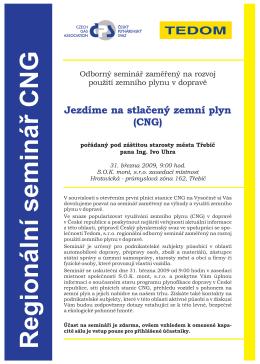 přihláška CNG seminář Třebíč
