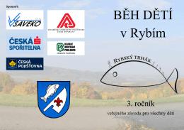 BĚH DĚTÍ v Rybím - Atletický klub Emila Zátopka Kopřivnice