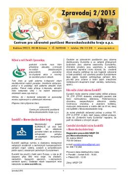 Zpravodaj - Centrum pro zdravotně postižené Moravskoslezského
