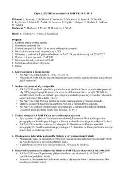 to get the file - Akademický senát UK-PedF