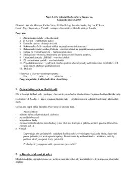 Zápis č. 23 z jednání Rady městyse Komárov