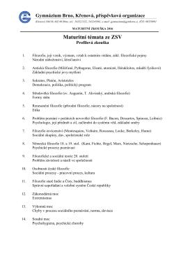 Základy společenských věd 2016