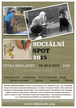 sociální spoty