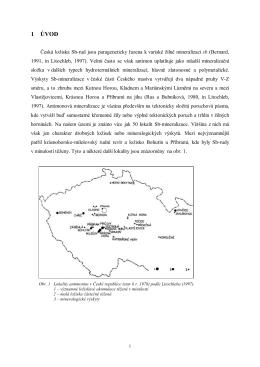 Stáhnout pdf soubor - Minerály České republiky