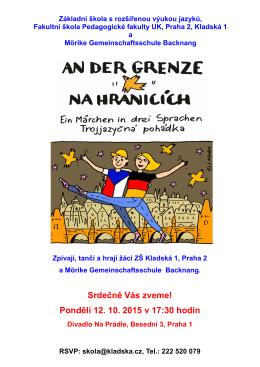 plakát - Základní škola Kladská