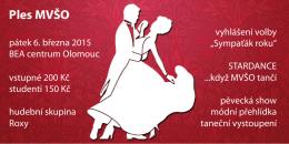 Ples MVŠO - Tesco SW a.s.