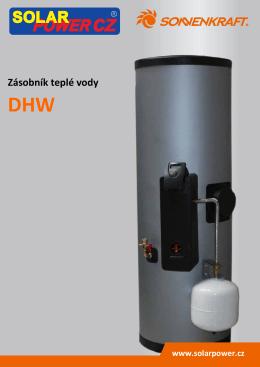 Technický list DHW