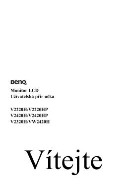 4. Optimální používání monitoru BenQ