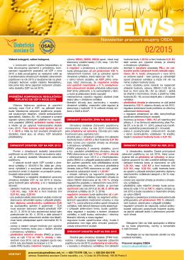 Newsletter è. 2/2015